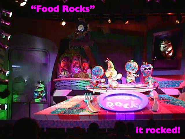 """""""Food Rocks"""" - it rocked!"""