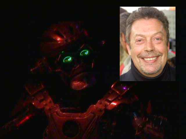 S.I.R. and his voice, Tim Curry