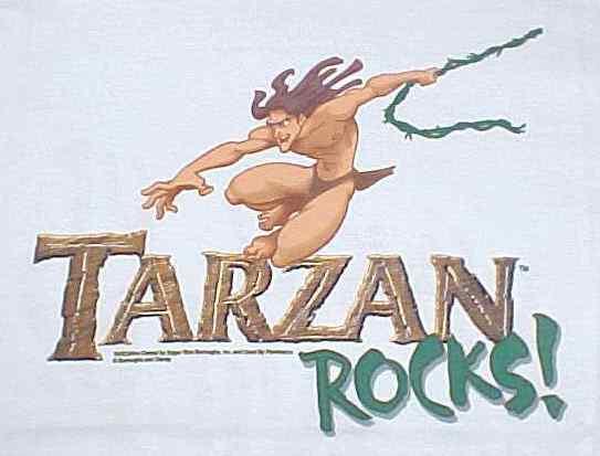 Tarzan Rocks! The T-Shirt