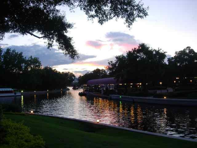 International Gateway, evening