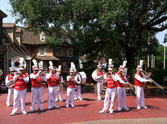 The Marching Band in Liberty Square