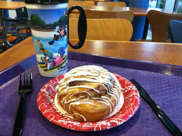 Cinnamon Roll and Refillable Mug