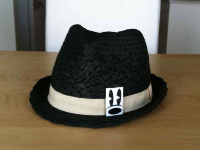 Fedora with pin