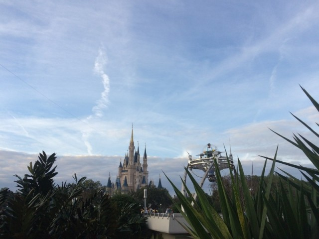 Cinderella Castle & Entrance to Tomorrowland