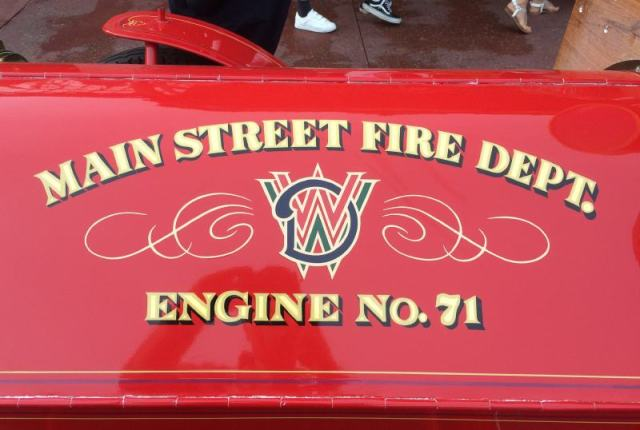 Main Street Fire Dept. Engine No. 71