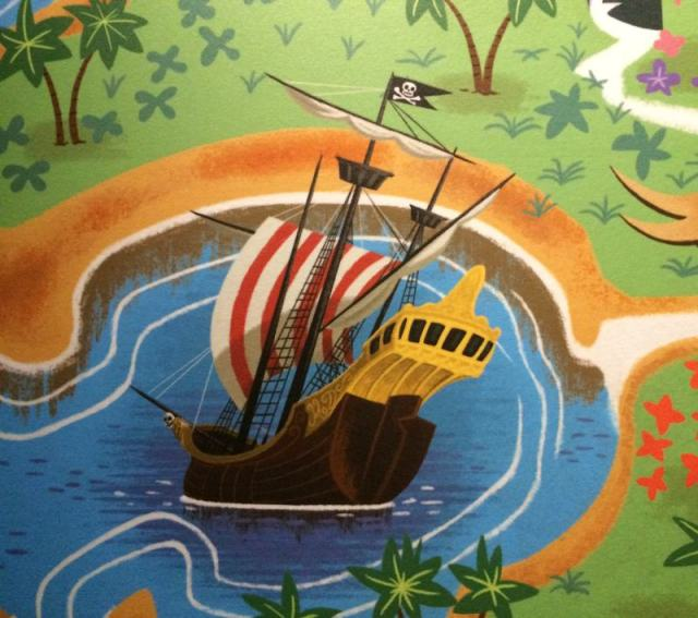 a pirate ship in Neverland