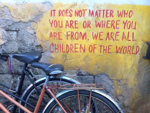We are all children of the world