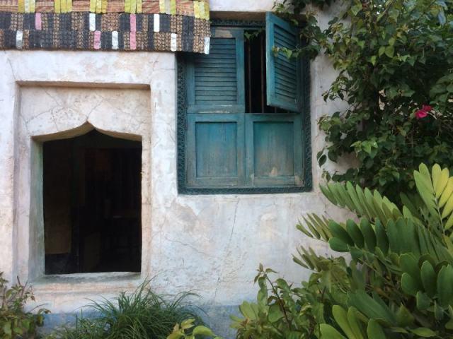 Windows of Harambe Theatre Quarter
