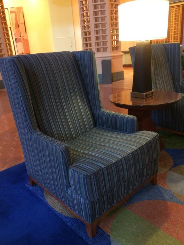 Resort lobby furniture