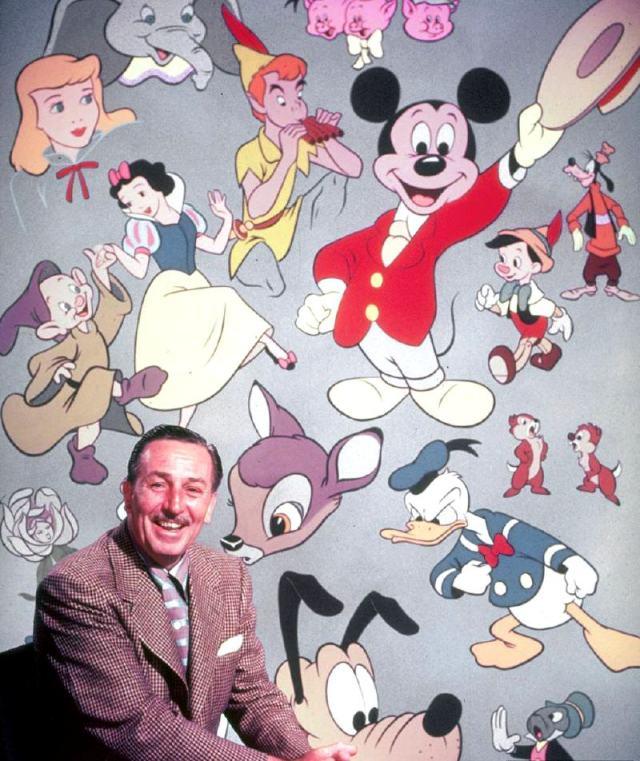 Walt and Cast