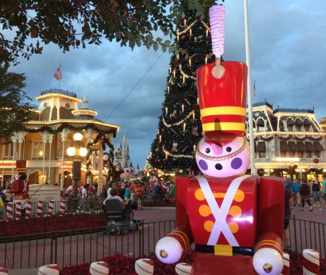 Toy soldier in Main Street Square