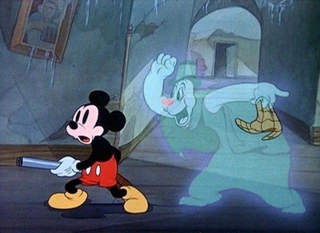 haunted Mickey