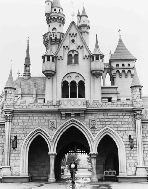 Walking through the castle