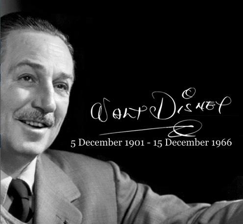 Walt Disney, 1901-1966