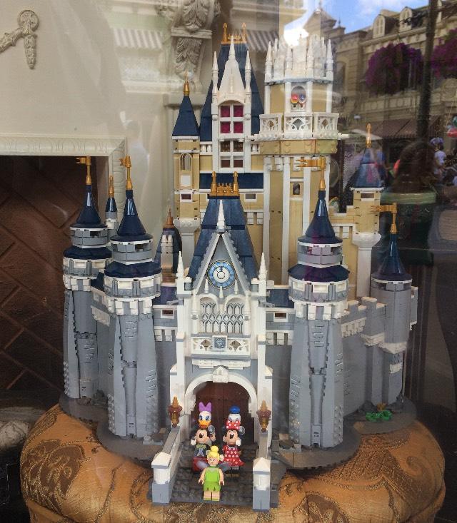 Cinderella Castle by Lego