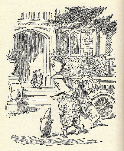 arrival at Toad Hall