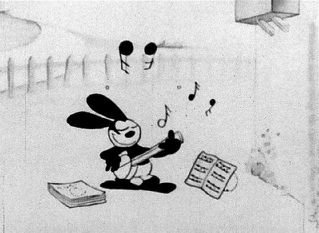 lucky rabbit serenading