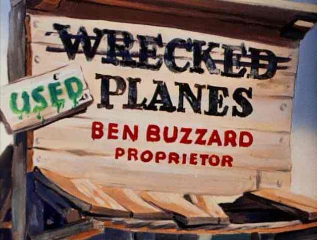 Ben Buzzard's Wrecked Planes