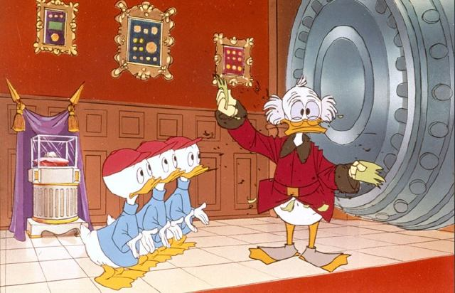 Addled Scrooge McDuck