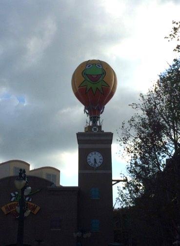 Kermit's balloon