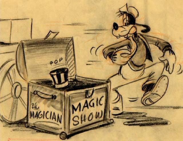 Magic Show in a trunk