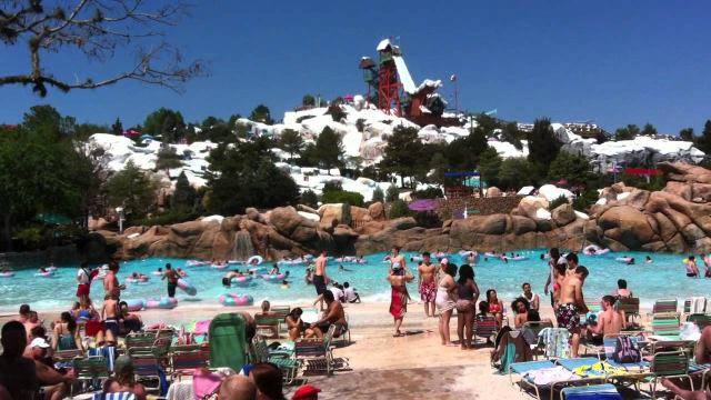 where's the wave at the wave pool?