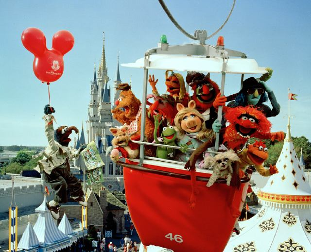 Muppets in a Skyway Bucket
