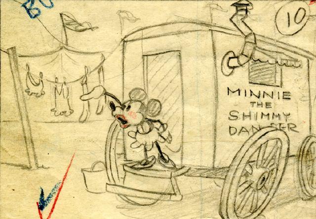 The Shimmy Dancer