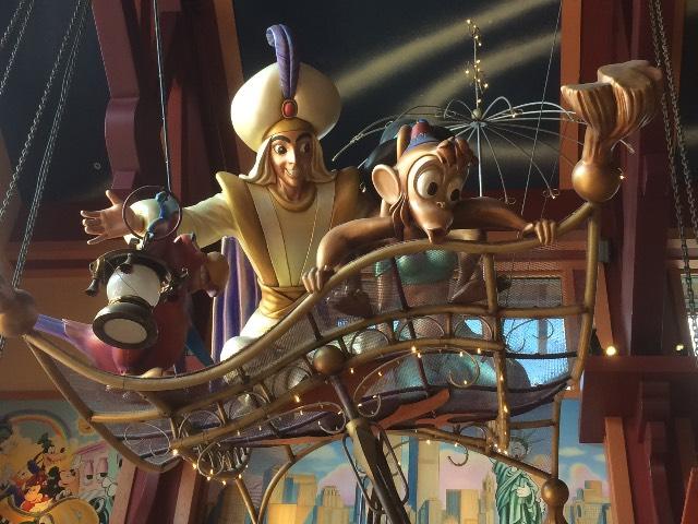 Aladdin & Co on flying carpet