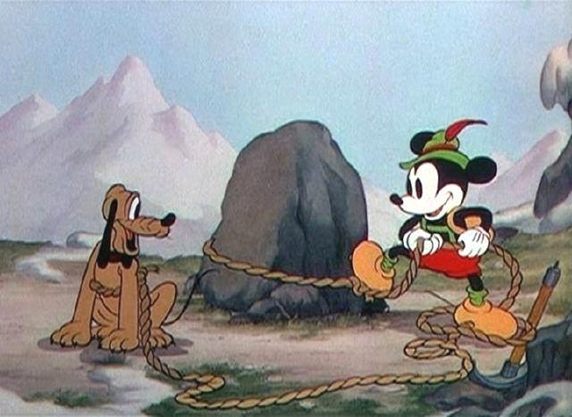Pluto & Mickey, Alpine Climbers
