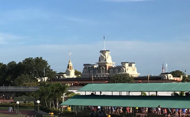 Docking at Magic Kingdom