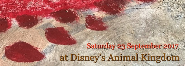 Saturday 23 September at Disney's Animal Kingdom
