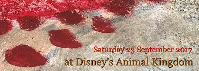 Saturday 23 September at Disney's Animal Kingdom