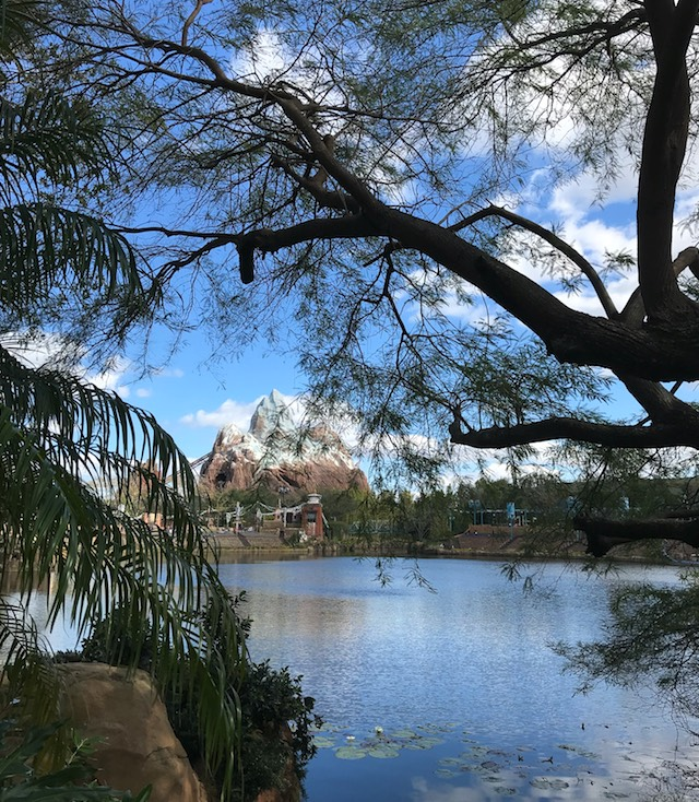 across the water: Expedition Everest