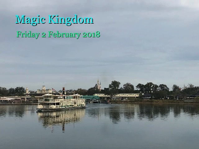 Magic Kingdom, Friday 2 February 2018