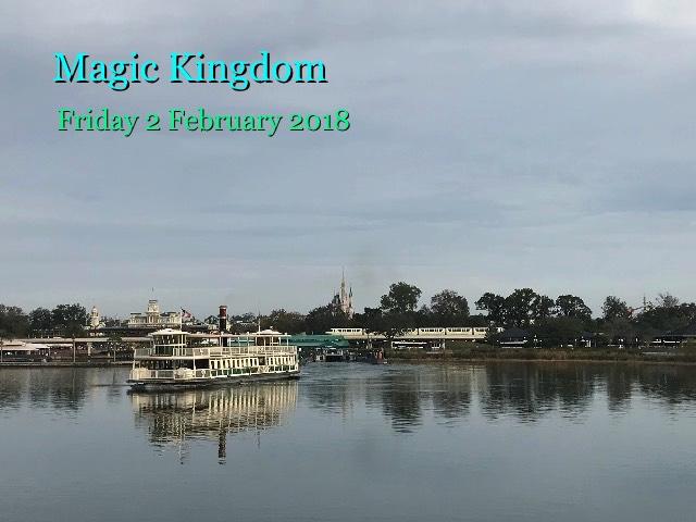 Magic Kingdom, Friday 2 February 2018