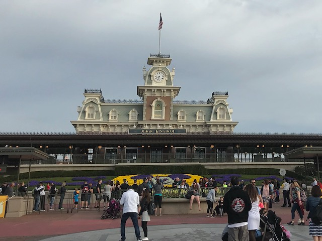 Entrance - Main Street Railroad Station