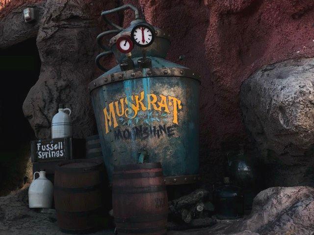 Muskrat Moonshine