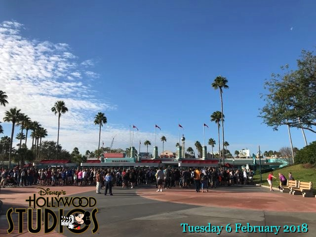 Disney's Hollywood Studios - 6 Feb 2018