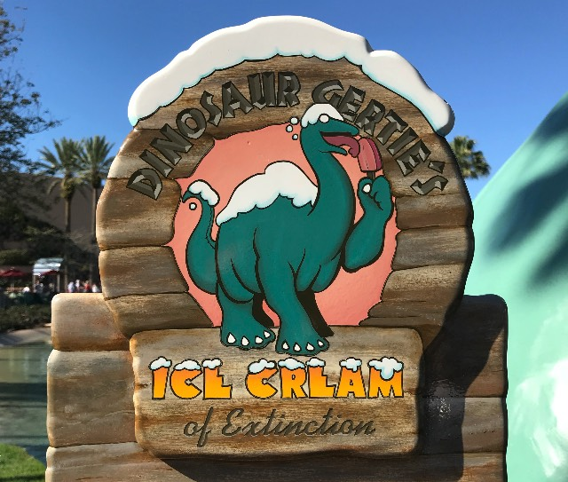 Dinosaur Gertie's Ice Cream of Extinction