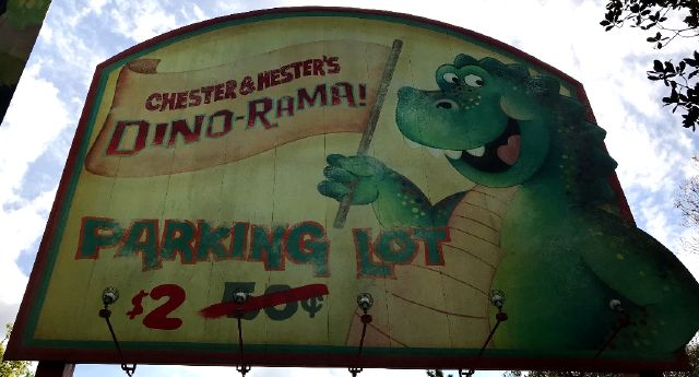 Dino-Rama parking used to be just 50 cents