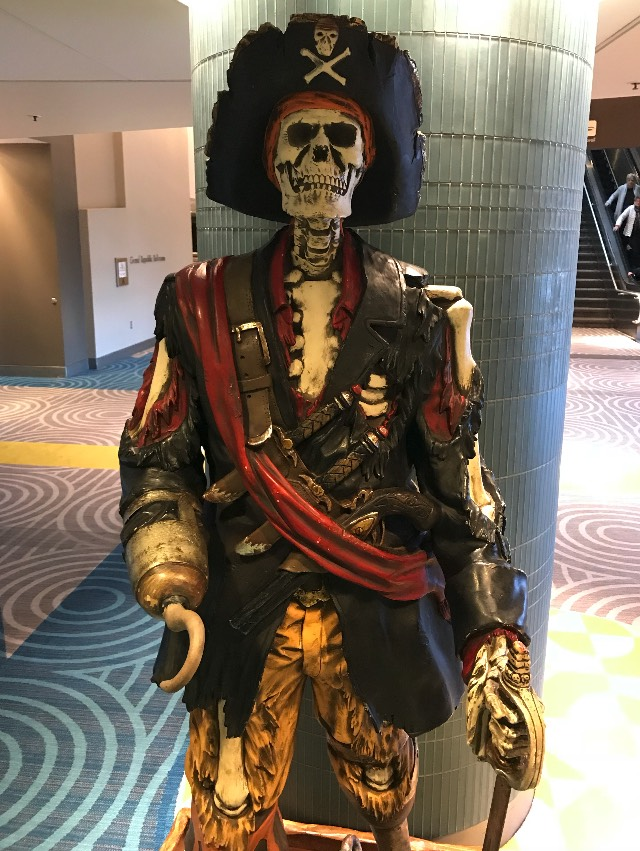 Skeletal Pirate of the Contemporary