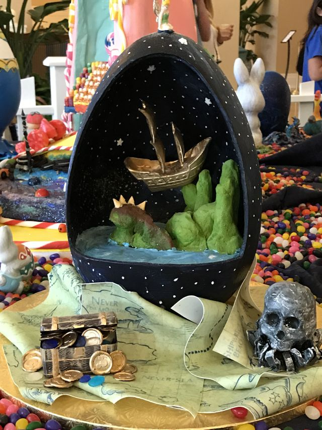 Neverland in an egg