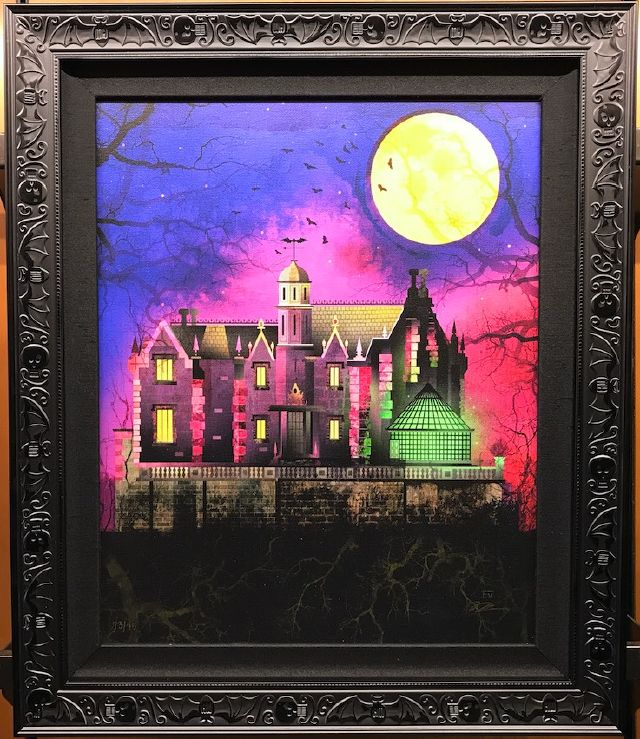 Haunted Mansion + Big-Ass Moon