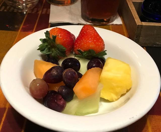 Strawberries, Cantaloupe, Melon, Pineapple, Grapes
