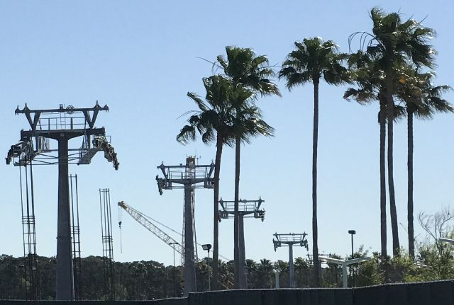 Skyliner pylons