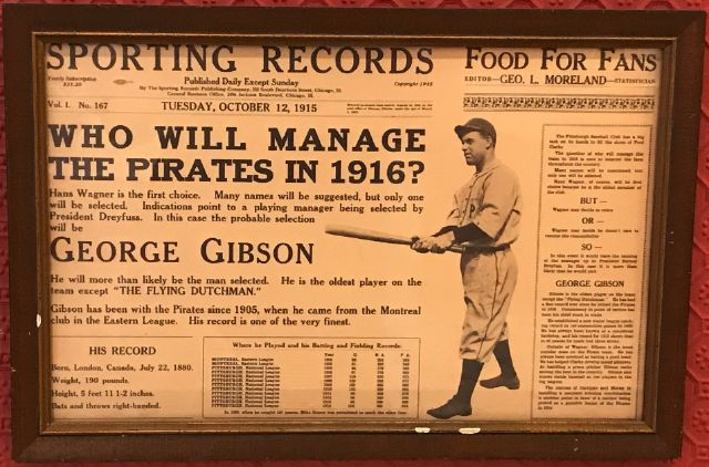 Who will manage the Pirates in 1916?