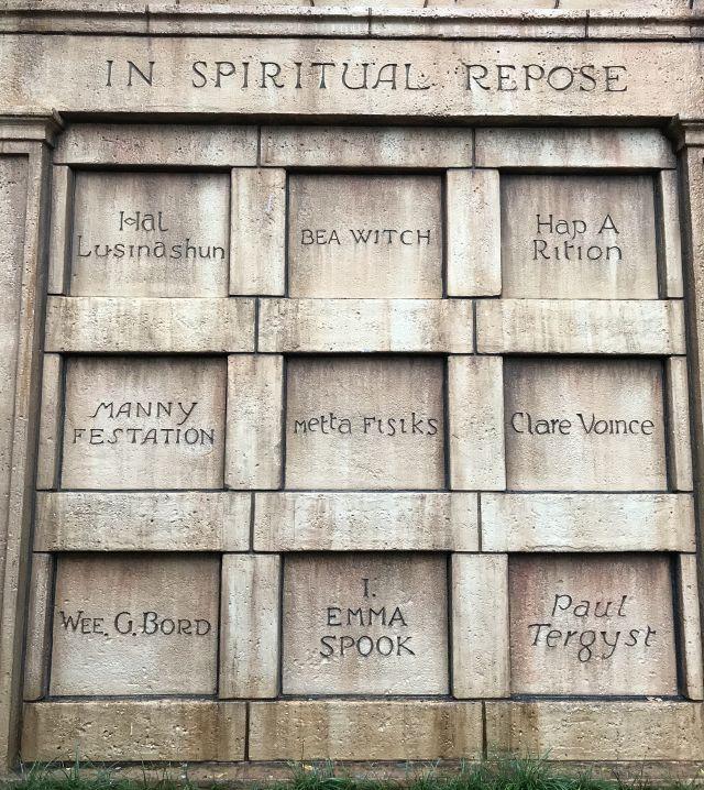 in spiritual repose