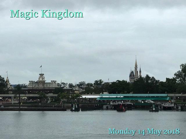 Magic Kingdom: Monday 14 May 2018
