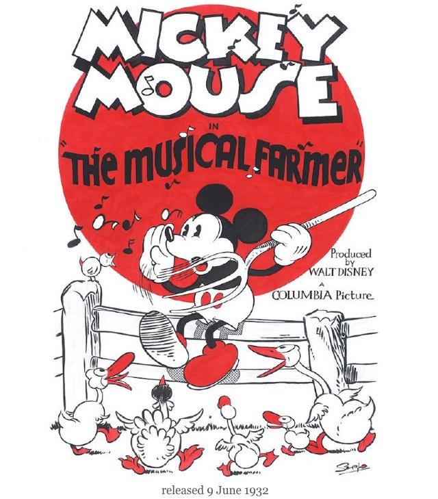 1932 The Musical Farmer